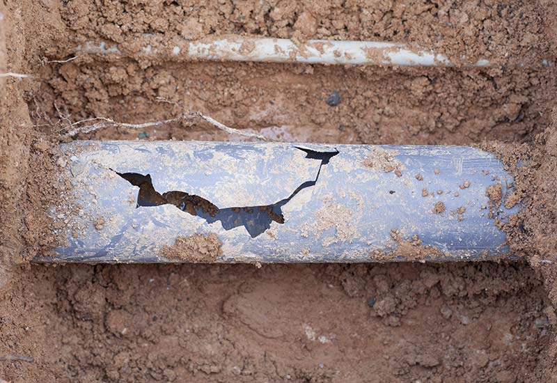 The 4 Most Common Causes of a Pipe Collapse