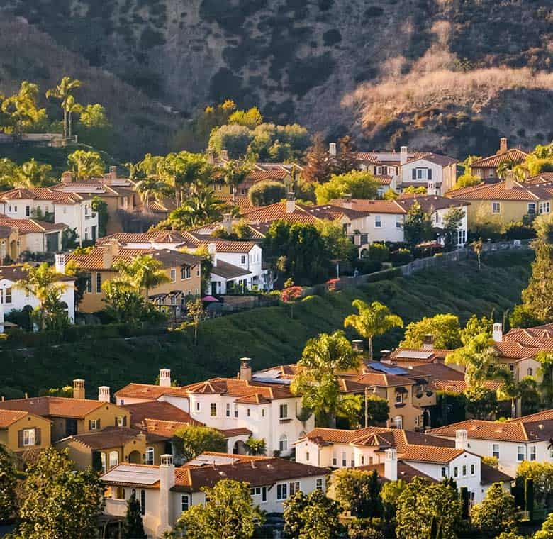 residential homes in anaheim hills, ca